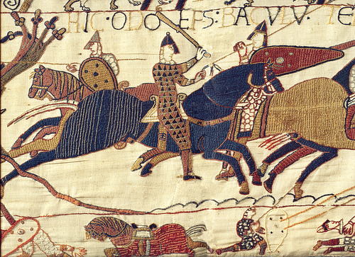 Bayeux Tapestry: Detail from Battle of Hastings