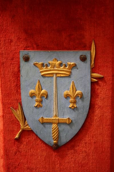 Coat of Arms of Joan of Arc (by Mark Cartwright, CC BY-NC-SA)