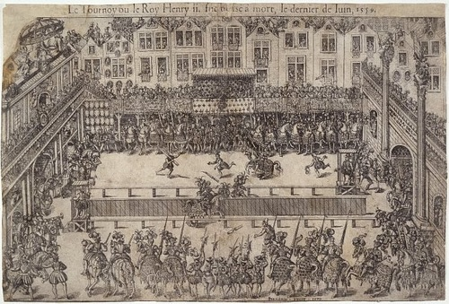 Death of Henry II at Tournament