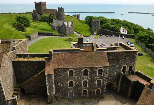 South View From Dover Castle