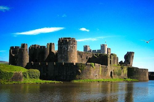 Caerphilly Castle (by Nathan Reading, CC BY-NC-ND)