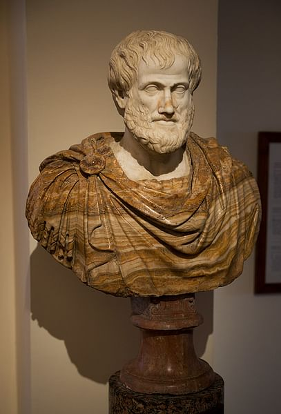 Aristotle Bust, Palazzo Altemps