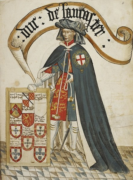 Henry, Duke of Lancaster (by Unknown Artist, Public Domain)