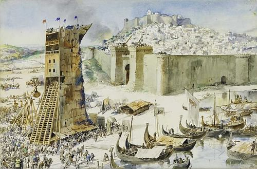 Siege of Lisbon, 1147 CE