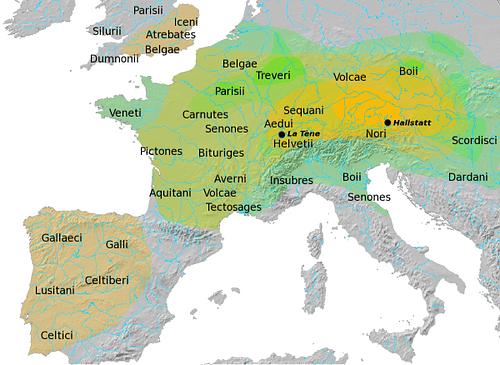 Map Of Ireland 800 Ad.Celts Ancient History Encyclopedia