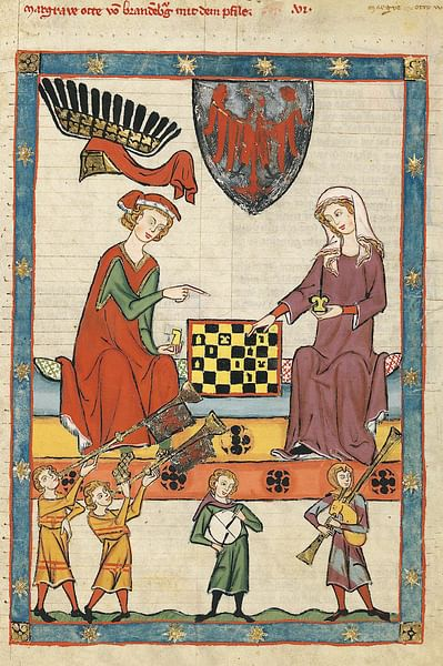 Medieval Chess Game