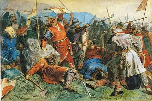 The Battle of Stiklestad (by Peter Nicolai Arbo)