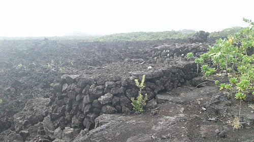 Kukii Heiau Cairn, Front View (by Jehosua)