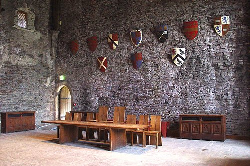 Great Hall, Caerphilly Castle