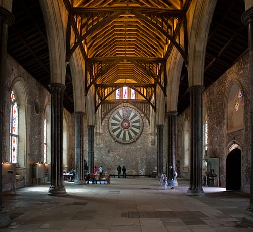 Great Hall, Winchester Castle (by Johan Bakker, CC BY-SA)