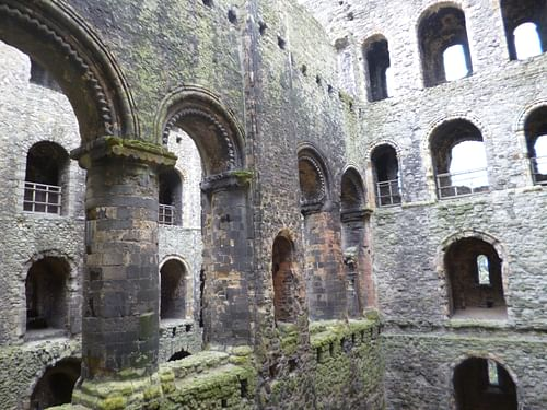 Arcade, Rochester Castle Keep