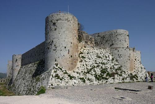 Mural Towers, Krak des Chevaliers
