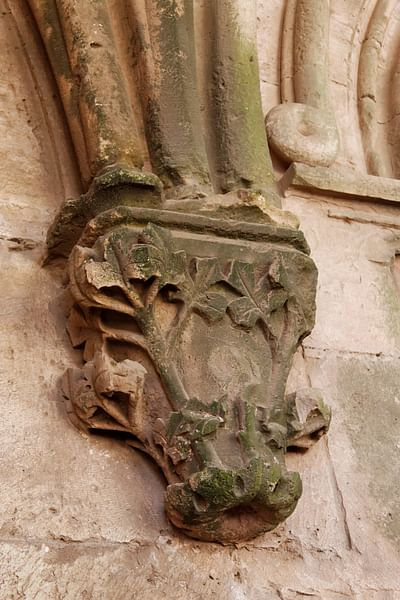 Decorative Corbel, Krak des Chevaliers