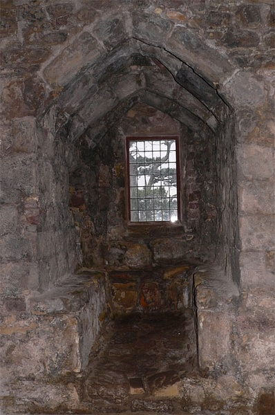 Window Seat, Dirleton Castle