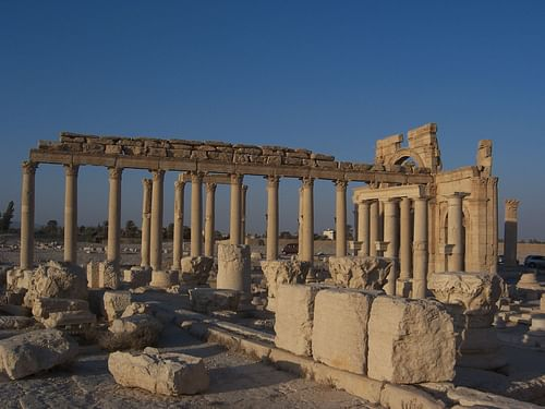 Palmyra, Syria (by Erik Hermans, CC BY-NC-SA)