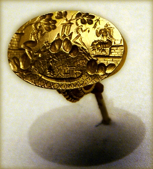 Minoan Gold Ring