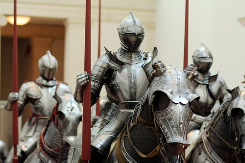 The Armour Of An English Medieval Knight Ancient History Encyclopedia