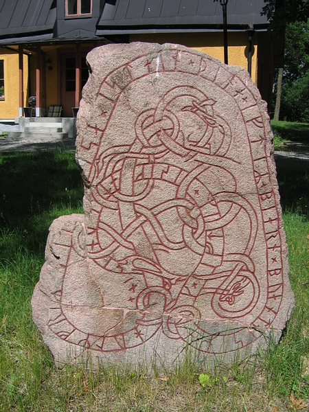 Runestone from Hagby, Sweden