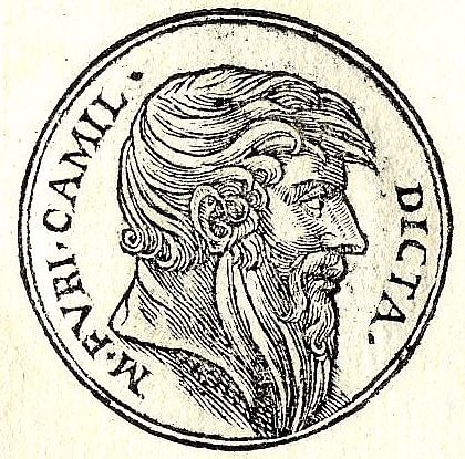 Marcus Furius Camillus (by Unknown Artist, Public Domain)