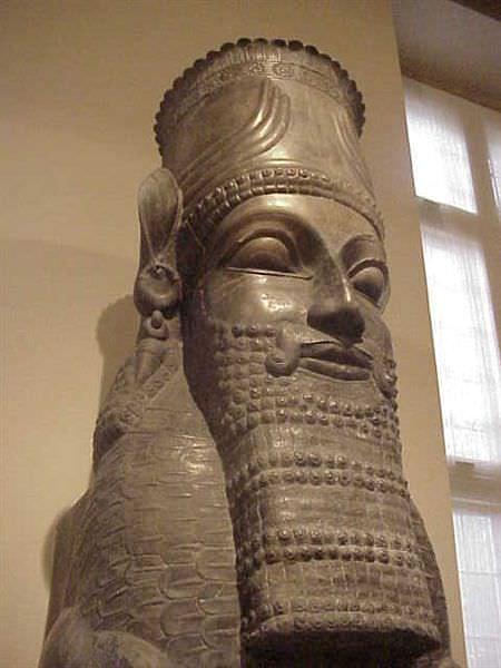 Xerxes Statue