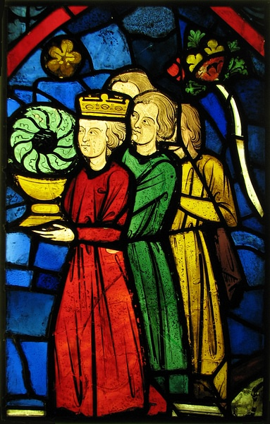 King Louis IX Carrying the Crown of Thorns