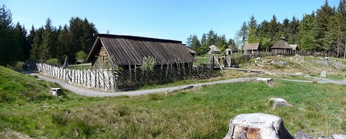 Viking Age Farm, Avaldsnes, Norway