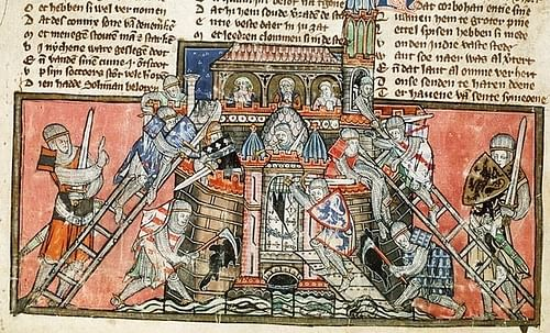 The Siege of Antioch, 1097-98 CE