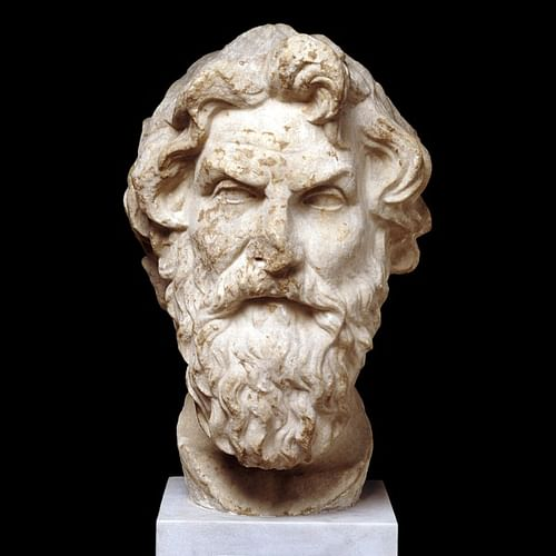 Antisthenes Bust, British Museum (by Trustees of the British Museum, Copyright)