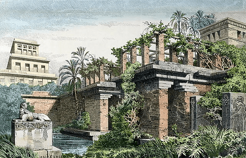 Beau Hanging Gardens Of Babylon