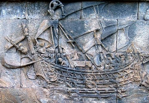 Ancient Indian Ship