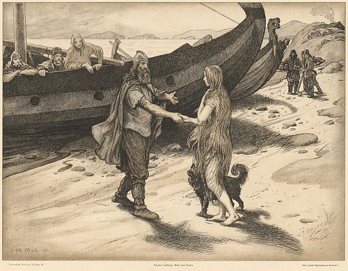 Ragnar Lothbrok & Kráka