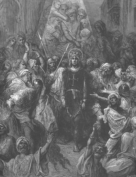 Louis IX Captured During the Seventh Crusade