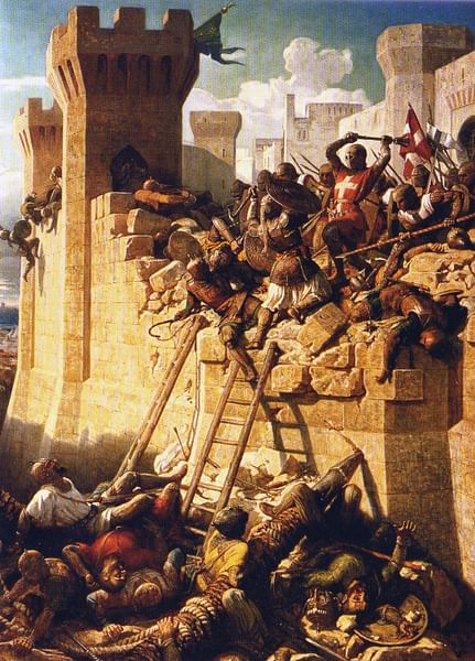The Siege of Acre, 1291 CE