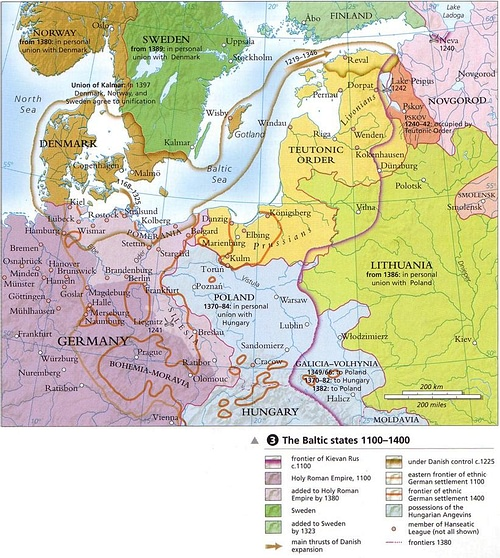 Baltic States 1100-1400 CE