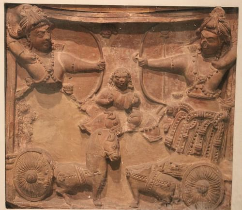 Chariot Warriors in Ancient India (by Nomu420, CC BY-SA)