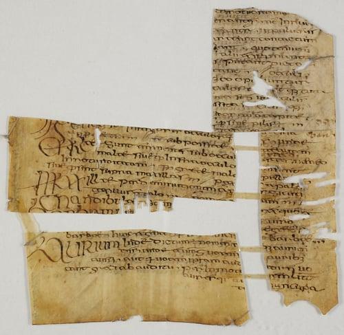 Irish Manuscript Fragment