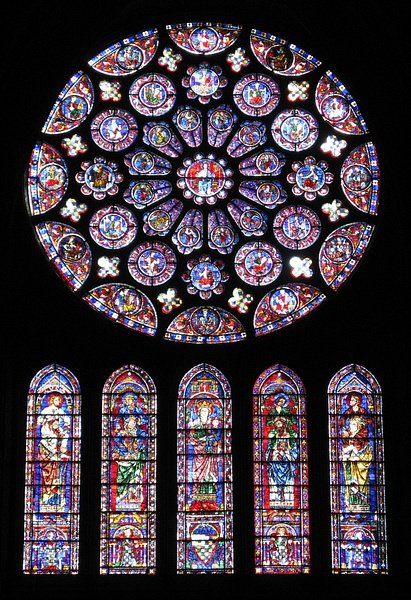 The Stained Glass Windows of Chartres Cathedral - Ancient History  Encyclopedia