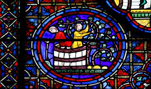 Winemakers, Zodiac Window Chartres