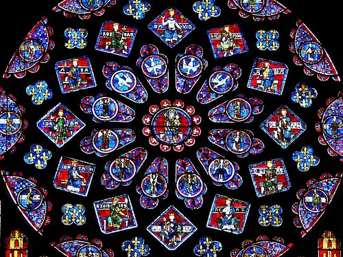 The Stained Glass Windows of Chartres Cathedral - Ancient