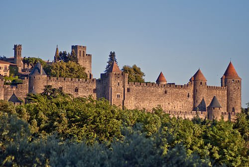 Carcassonne Fortifications (by mariejirousek)