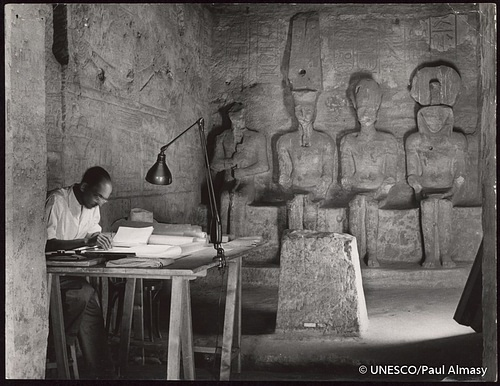 Surveying Abu Simbel's Great Temple
