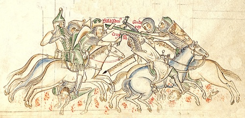 The Battle of Hattin, 1187 CE
