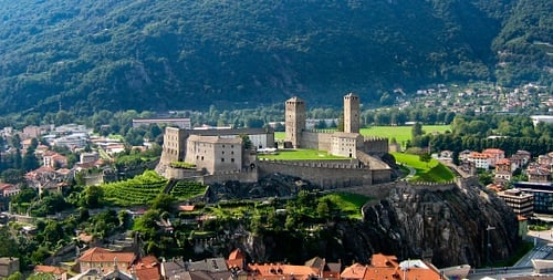 Castelgrande Castle, Bellinzona (by H005)