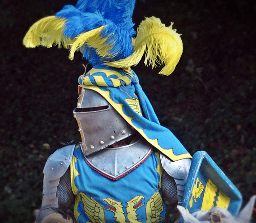Medieval Knight (by pxhere, Public Domain)