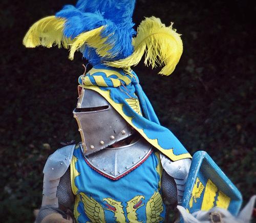 Childs Medieval Warrior Silver Metal Chain Mail Effect Knights Helmet Hood