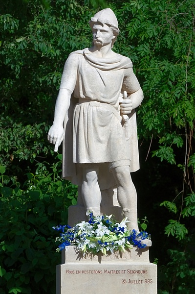 Rollo of Normandy Statue