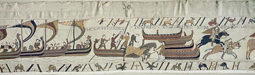 Norman Invasion Fleet, Bayeux Tapestry