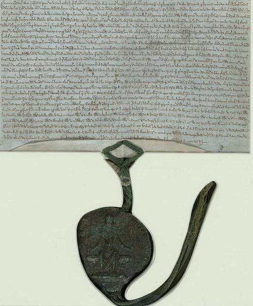 Magna Carta with Royal Seal (by British Library)