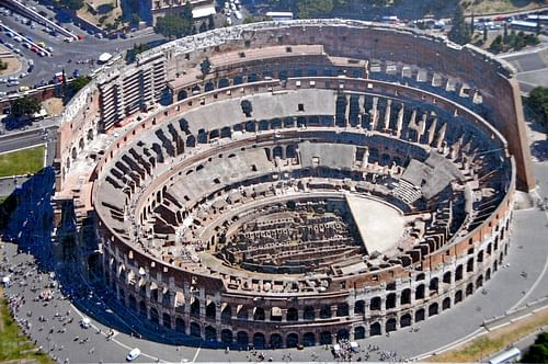 Colosseum on roman colosseum dimensions