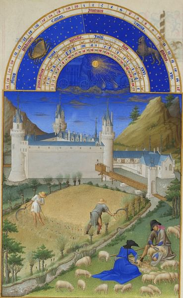 July, Les Tres Riches Heures